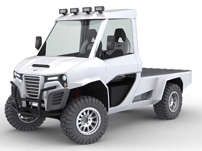 Electric 4 Wheel Drive All Season Truck Aev511