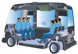 Driverless - Autonomous - Self driving - Buses and Taxis
